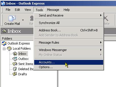 Configuring Outlook Express