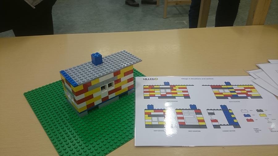 Første forsøk med Villego for å lære bruk av Last Planner