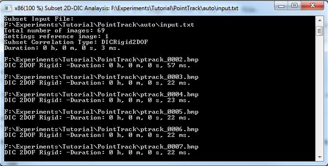 Make and Run 2D Subset-DIC Input File — eCorr Digital Image