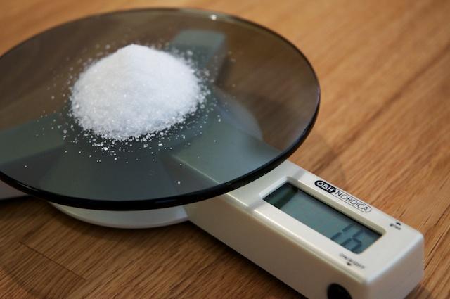 16 gram sukker