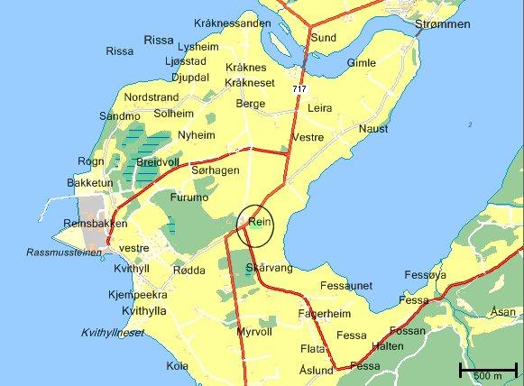 fosenhalvøya kart Flere kart fosenhalvøya kart